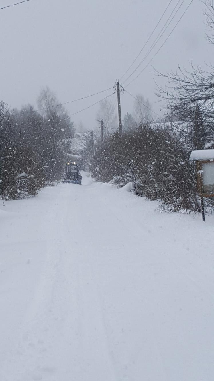 "Чистка снега ТСН ""Искона"""