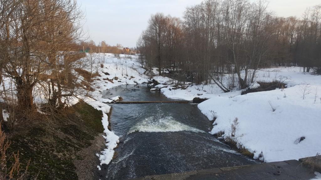 Размытие плотины Исконского водохранилища